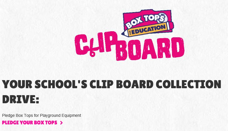 Support Box Tops for Education